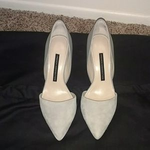 French Connection Elvia Suede Pumps